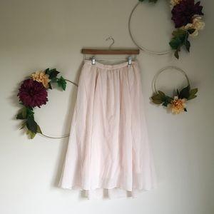 Abercrombie & Fitch midi skirt